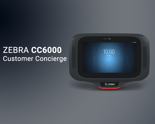 Zebra CC6000 customer concierge